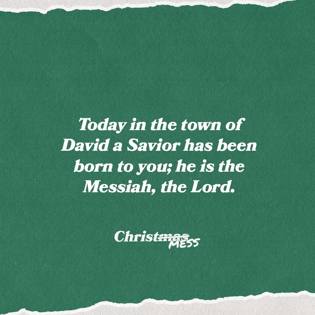 ChristMESS-12-25